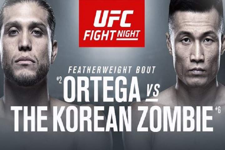 UFC Fight Night: Ortega Vs. The Korean Zombie Fight Card October 17, 2020: Predictions & Preview, Odds, Matches, Location, Time, Fight Island