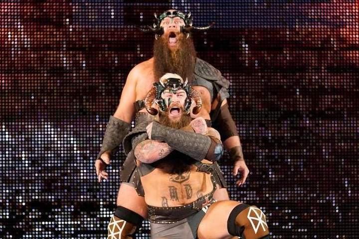 The Viking Raiders Return To WWE