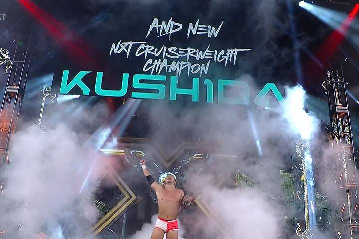 New NXT Cruiserweight Champion Crowned On WWE NXT