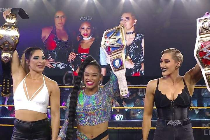 Rhea Ripley & Bianca Belair Appear On WWE NXT