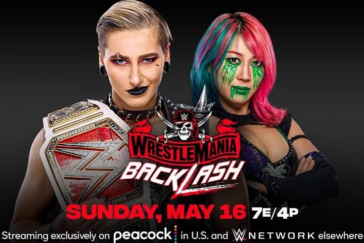 Raw Women's Champion Rhea Ripley vs. Asuka Added To WWE WrestleMania Backlash