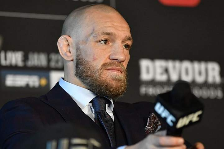 Conor McGregor Ranked As The World's Highest-Paid Athlete By Forbes In 2021