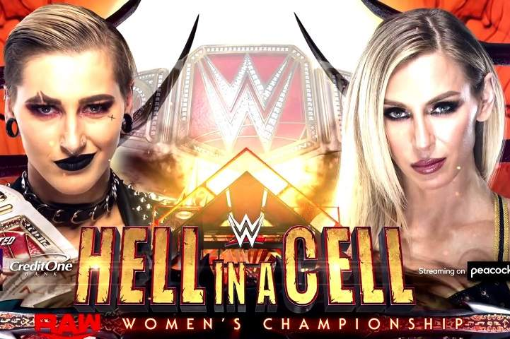 Rhea Ripley Vs. Charlotte Flair For Raw Women's Championship Added To WWE Hell In A Cell