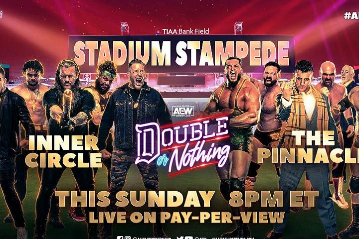 AEW Double Or Nothing 2021 Results: Live Coverage, Winners Highlights