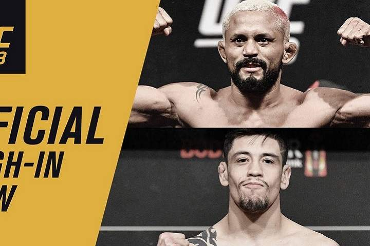 UFC 263 Weigh-In Live Results