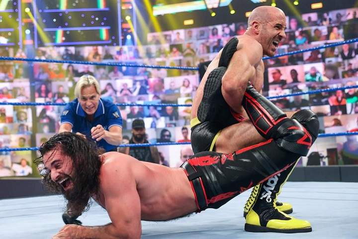 Cesaro Vs. Seth Rollins Added To Hell In A Cell 2021