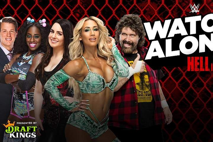 Live WWE Hell In A Cell Watch Along