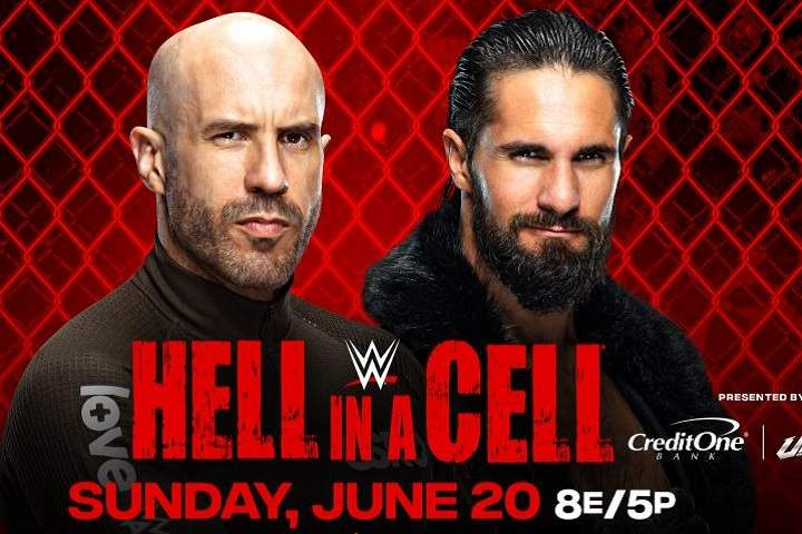 WWE Hell In A Cell 2021 Results: Seth Rollins Vs. Cesaro Full Match & Winner