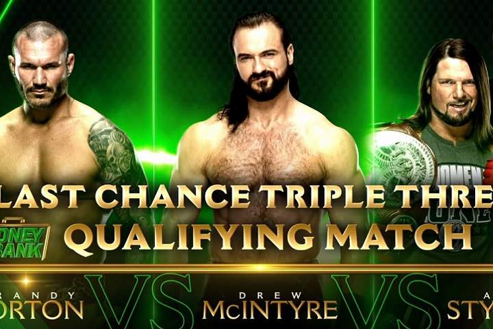 Last Chance Triple Threat Qualifying Match And More Announced For Next Week's RAW