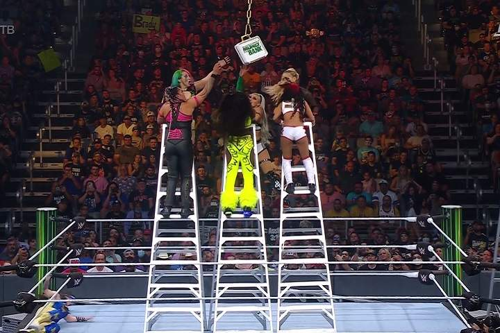 WWE MITB 2021 Results: Women's Money in the Bank Ladder Full Match & Winner