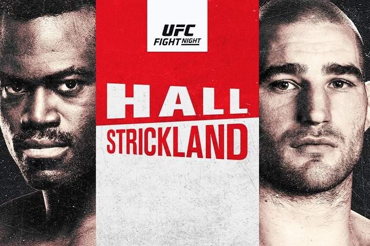 UFC on ESPN: Hall Vs. Strickland Fight Card: Prediction, Poster, Odds, Start Time