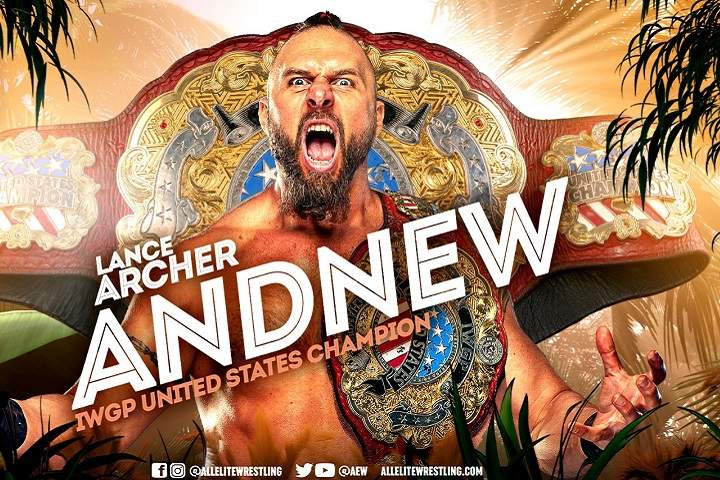 New IWGP United States Champion Crowned At Night 2 Of AEW Dynamite: Fyter Fest