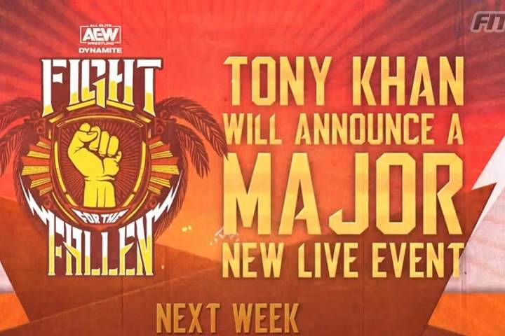 Full Lineup Announced For AEW Fight For The Fallen