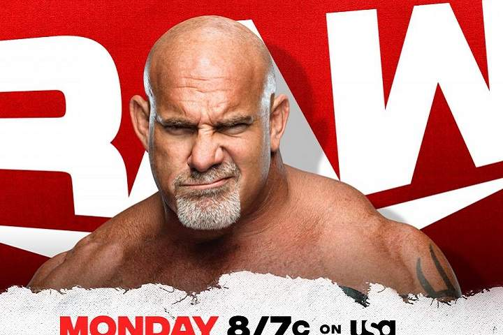 Riddle Vs. Omos And Goldberg's Return Added To WWE Raw 8/2