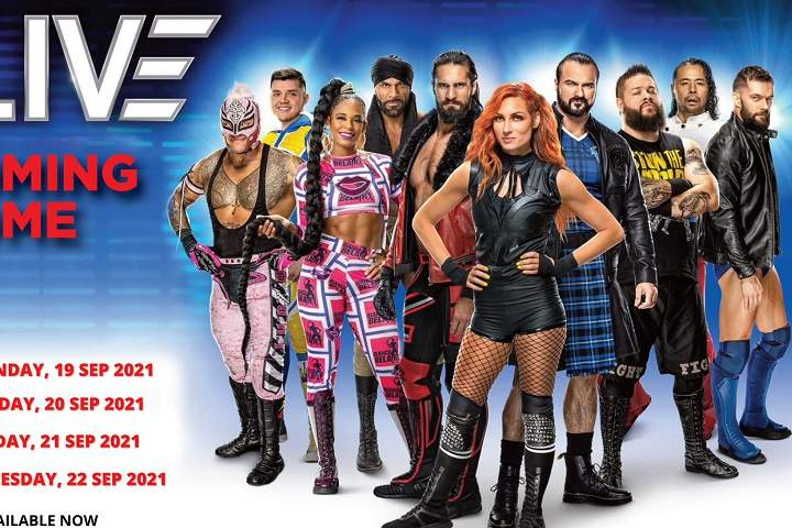 WWE Cardiff Results For September 21, 2021: Winners Highlights