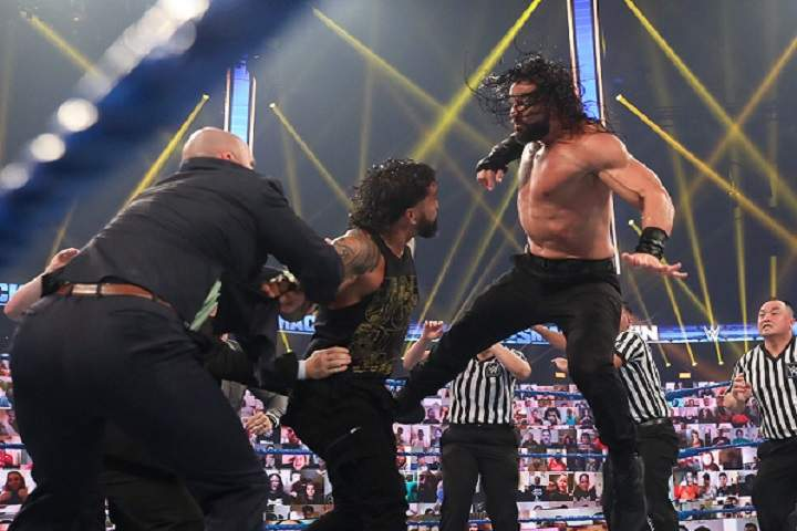 Chaos Between Roman Reigns And Jey Uso Closes Out The Season Premiere Of SmackDown