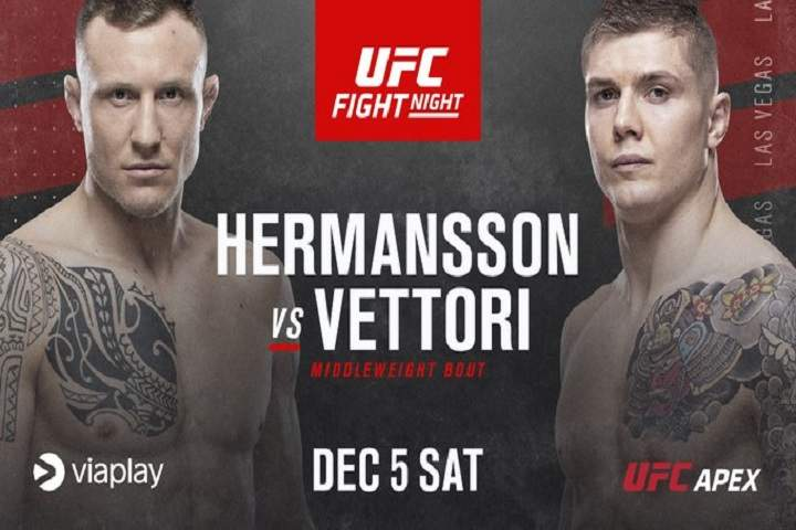 UFC On ESPN 19 Hermansson Vs. Holland Fight Card: Prediction & Preview, Date & Location, Odds, Start Time