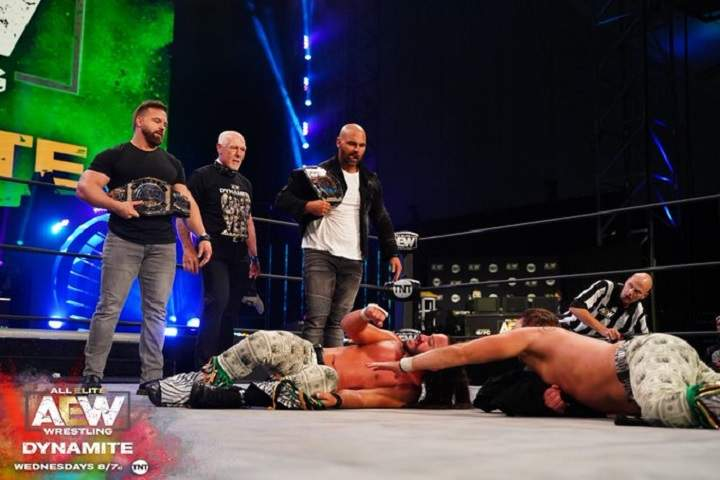 FTR (c) vs. The Young Bucks Announced In A Match Receives Big Stipulation At Full Gear 2020