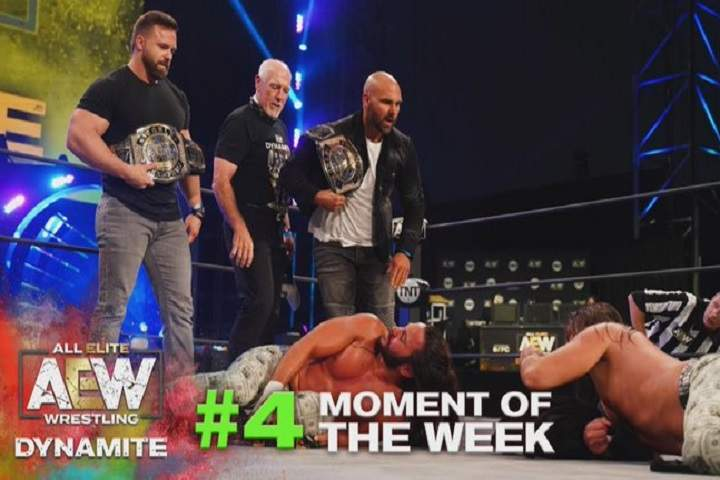 AEW Forbids Tully Blanchard From Ringside At AEW Full Gear