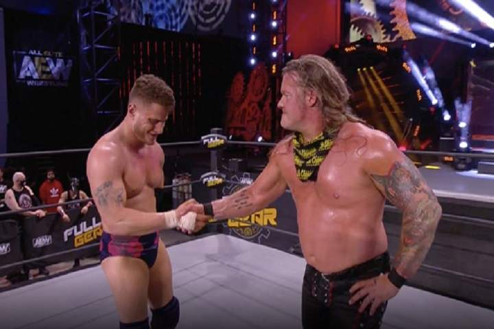 MJF Joins Inner Circle After Defeating Chris Jericho At AEW Full Gear