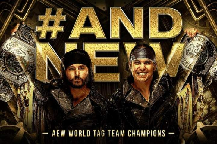 AEW Full Gear 2020: The Young Bucks Becomes The New AEW World Tag Team Champions