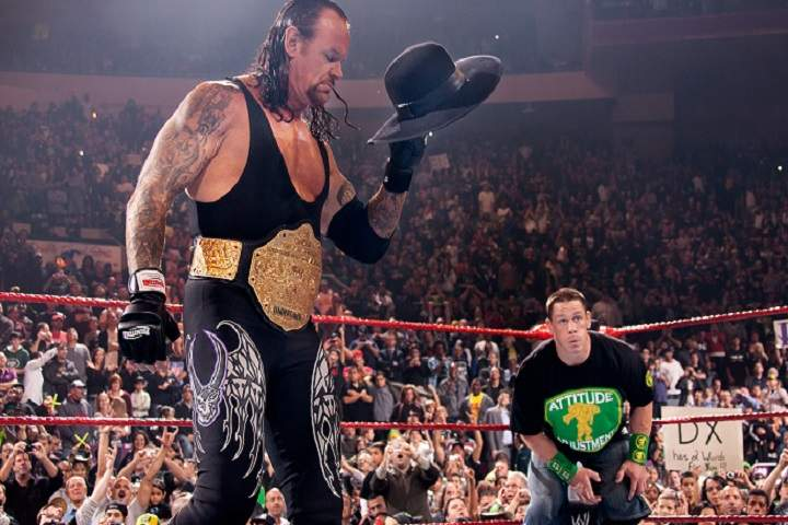 John Cena Pays Tribute To The Undertaker On His 30th Anniversary
