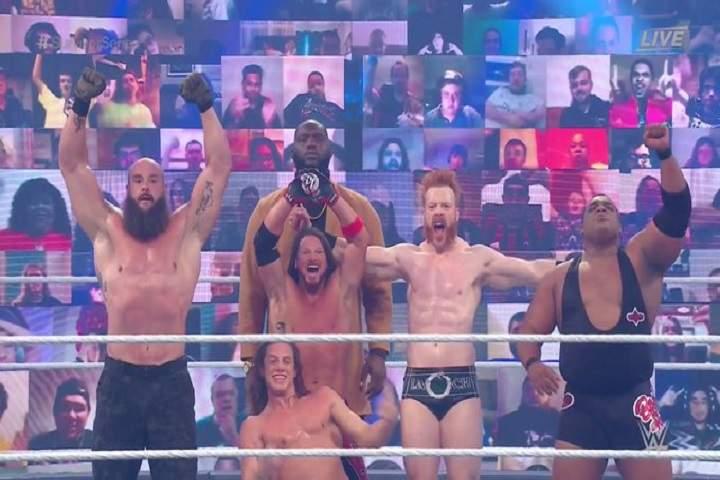 WWE Survivor Series 2020 Men's Traditional 5-on-5 Elimination Match Winner