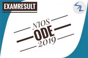 NIOS ODE 2019 | Exam Result Declared | Details Inside
