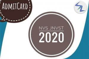NVS JNVST 2020 | Admit Cards Released | Details Inside