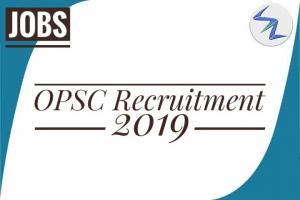 OPSC Recruitment 2019   Total 28 Posts   Details Inside