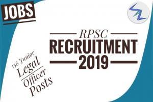 RPSC Recruitment 2019   156 Posts Of Junior Legal Officer   ...