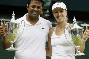 Tennis Legend Martina Hingis Talks About Mahesh Bhupathi-Lea...