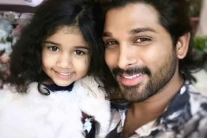 Allu Arjun's Daughter, Arha To Make Her Debut With Samantha ...