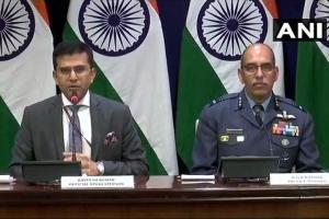 MEA spokesperson and Air Vice Marshal RGK Kapoor address med...