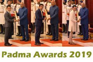 President Kovind Presents Padma Awards at 2019 Civil Investi...