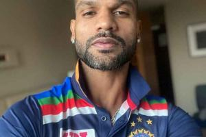 Shikhar Dhawan Gives a Sneak Peek Into Team India's New Jers...