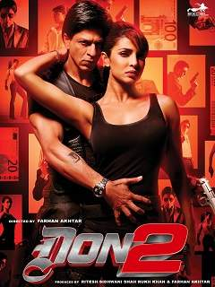 Don 2: The Chase Continues Poster