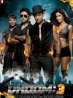 Dhoom 3 Poster