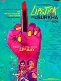 Lipstick Under My Burkha Poster