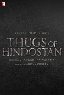 Thugs Of Hindostan Poster
