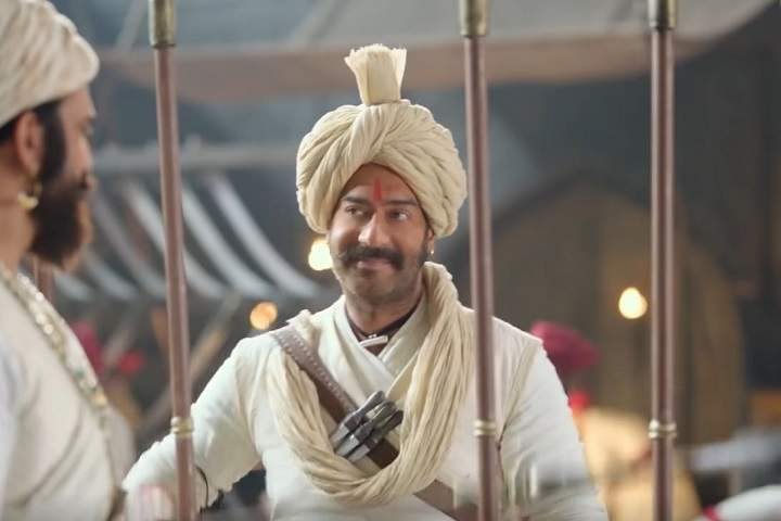 Tanhaji: The Unsung Warrior Day 3 Box Office Collection