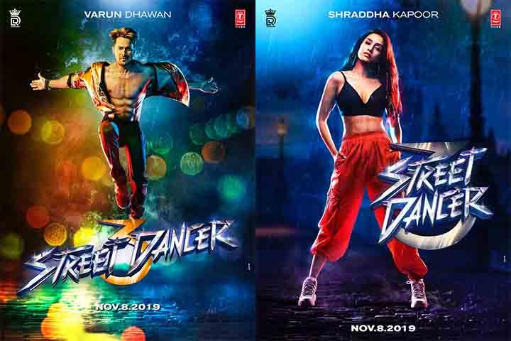 Bollywood Movie Street Dancer Poster
