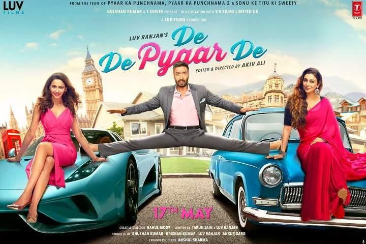 Bollywood Movie De De Pyaar De Poster