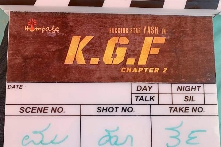 Sandalwood Movie KGF Chapter 2 Shooting Starts