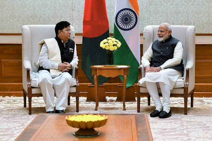 Foreign Affairs Minister of Bangladesh, Abdul Momen Meets PM Narendra Modi